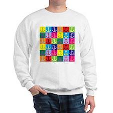 Pop Art Anchor Sweatshirt