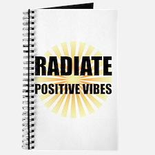Radiate Positive Vibes Journal