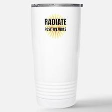 Radiate Positive Vibes Travel Mug