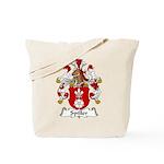 Spiller Family Crest Tote Bag
