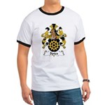 Spies Family Crest Ringer T