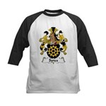 Spies Family Crest Kids Baseball Jersey