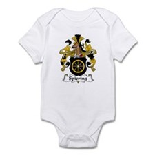 Spiering Family Crest  Infant Bodysuit