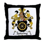 Spiering Family Crest  Throw Pillow