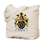 Spiering Family Crest  Tote Bag