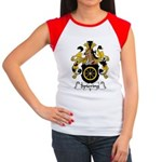 Spiering Family Crest  Women's Cap Sleeve T-Shirt