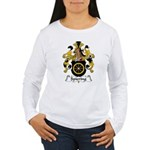 Spiering Family Crest  Women's Long Sleeve T-Shirt
