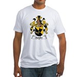 Spieler Family Crest  Fitted T-Shirt