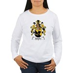 Spieler Family Crest  Women's Long Sleeve T-Shirt