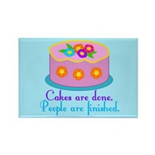 Cake Grammar Rectangle Magnet