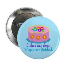 "Cake Grammar 2.25"" Button"