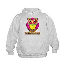 Owls Books Best Hoodie