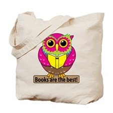 Owls Books Best Tote Bag