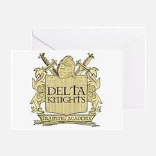Delta Knights Greeting Card