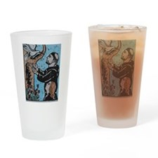st.francis Drinking Glass