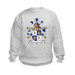 Sommerfeld Family Crest  Kids Sweatshirt