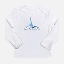 Long Island - New York. Long Sleeve Infant T-Shirt