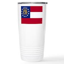 Georgia State Flag Travel Mug