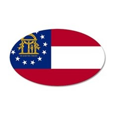 Georgia State Flag Wall Decal