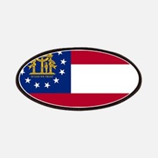 Georgia State Flag Patches