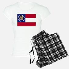Georgia State Flag Pajamas