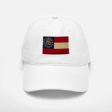 Georgia Flag VINTAGE Baseball Baseball Baseball Cap
