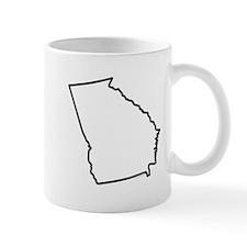 Georgia State Outline Mug