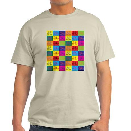 Pop Art Bicycle Light T-Shirt