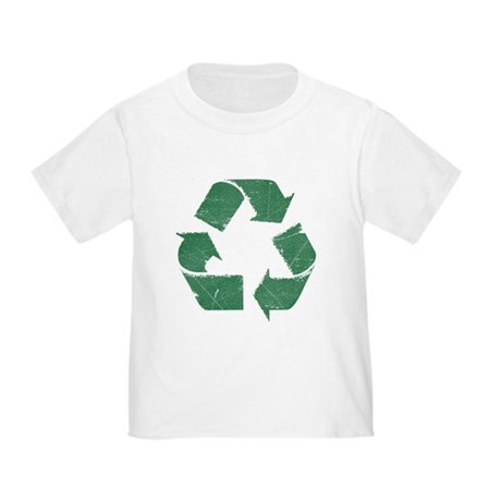 Vintage Green Recycle Sign Toddler T-Shirt