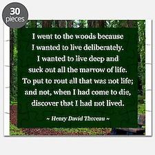 Henry David Thoreau Puzzle