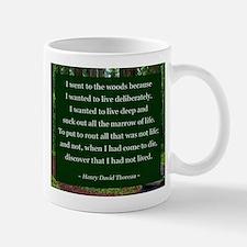 Henry David Thoreau Mugs
