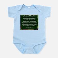 Henry David Thoreau Body Suit