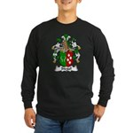 Siegel Family Crest Long Sleeve Dark T-Shirt