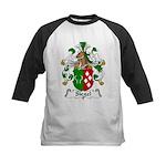 Siegel Family Crest  Kids Baseball Jersey
