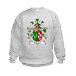 Siegel Family Crest  Kids Sweatshirt