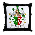 Siegel Family Crest  Throw Pillow