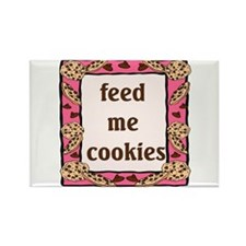 Feed me Cookies Rectangle Magnet