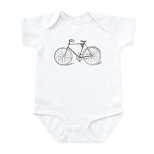 Vintage Bicycle Infant Bodysuit