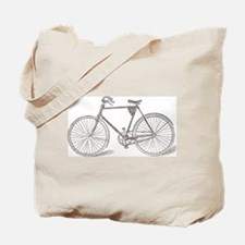 Vintage Bicycle Tote Bag