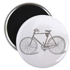 Vintage Bicycle Magnet