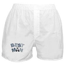 BP Letters Best Man Boxer Shorts