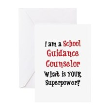 school guidance counselor Greeting Card