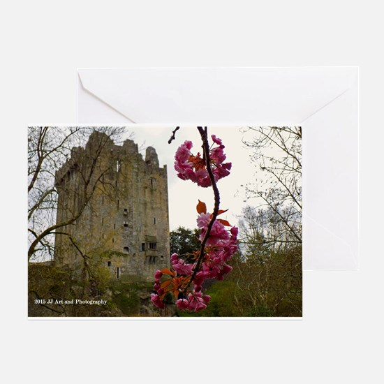 Blarney Blossom Card Greeting Cards