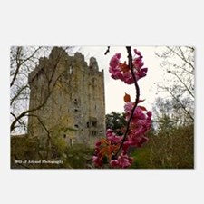 Blarney Blossom Postcards (package Of 8)