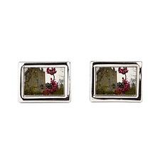 Blarney Blossom Rectangular Cufflinks