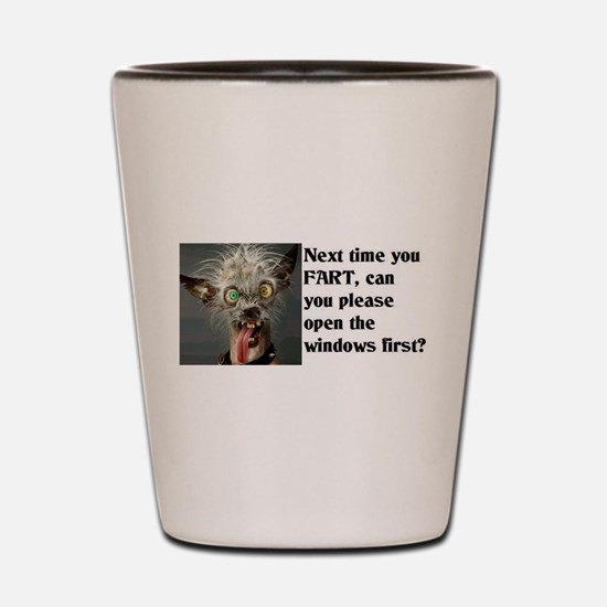 Funny Fart Shot Glass