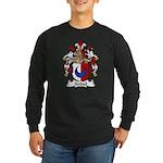 Seidel Family Crest Long Sleeve Dark T-Shirt