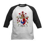 Seidel Family Crest  Kids Baseball Jersey