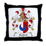 Seidel Family Crest  Throw Pillow