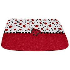 Ladybugs and Dots Bathmat